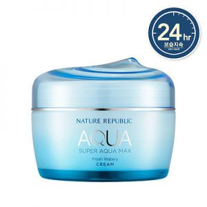 Super aqua max fresh watery cream