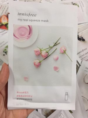 mặt nạ Innisfree My Real Squeeze Mask uy tín nhất