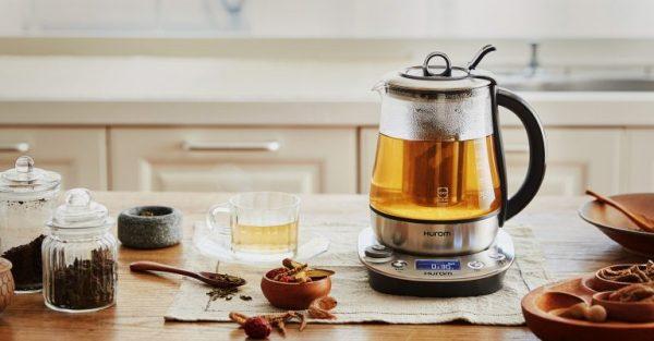 máy pha trà hurom tea