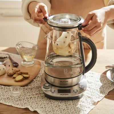 máy pha trà hurom tea master giá bao nhiêu