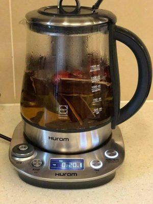 hình ảnh máy pha trà