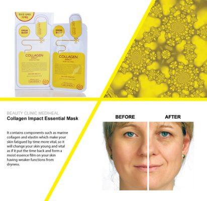 Mặt nạ Collagen Mediheal Collagen Impact Essential Mask