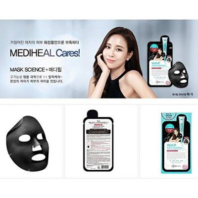 Mặt Nạmask Mediheal W.H.P White Hydrating Black Mask