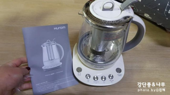 giá Máy pha trà Hurom Tea Master TM-B01FWH