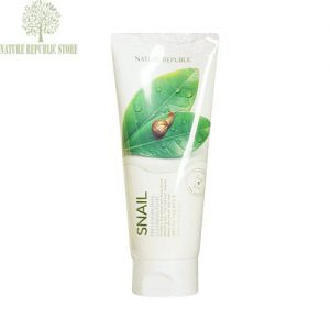 Nature Republic Fresh Herb Snail Cleansing Foam.