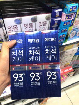 Kem Đánh Răng Median Hàn Quốc giá bao nhiêu